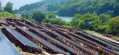 太陽光発電装置(長野県)